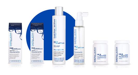 Le soin capillaire à domicile Hairfax Active