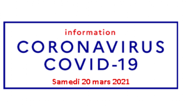 Information commerces ouverts – Covid19
